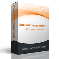 Outlook Integration enables the Project Manager to send tasks to the resources directly from Microsoft Project, and receive updates back automatically as well.